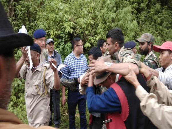 Two Assam Rifles jawans killed in Nagaland on Saturday after a terrorist ambush