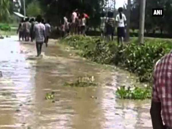 Around 12 districts including Sheohar, Dharbangha, Sitamarhi, North Champaran, Madhubani, Araria and Kishanganj have been severely affected due to rising water levels in rivers.