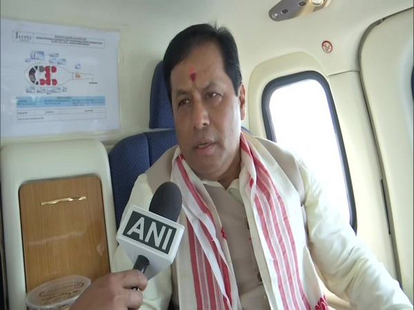 Assam CM Sarbananda Sonowal (Photo/ ANI)