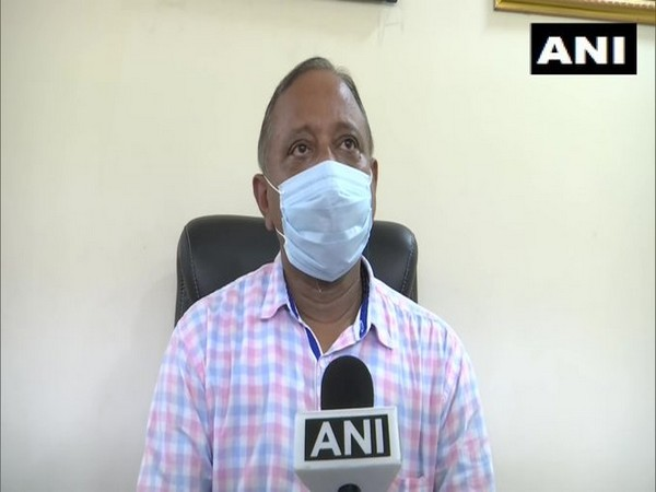 Parimal Suklabaidya, State Minister of Environment and Forest speaks to ANI on Tuesday. (Photo/ANI)