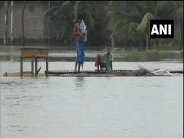 Representative image (Assam floods)