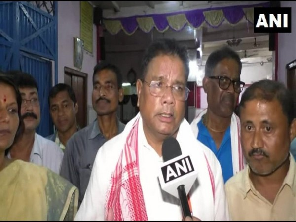 Assam Congress chief Ripun Bora speaking to ANI on Saturday