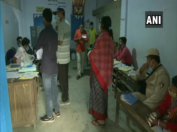 Visual of polling in Assam (Photo/ANI)