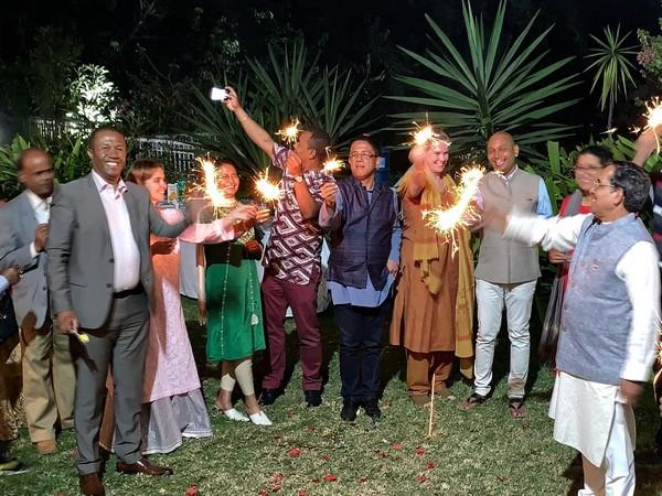 In Madagascar's capital Antananarivo, Ambassador Abhay Kumar hosted Diwali celebrations at his residence.