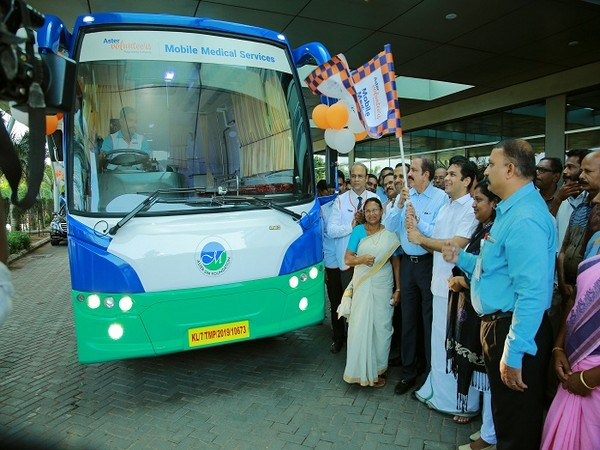 Aster Volunteers flag off its 9th Mobile Medical Service from Aster Medcity, Kochi