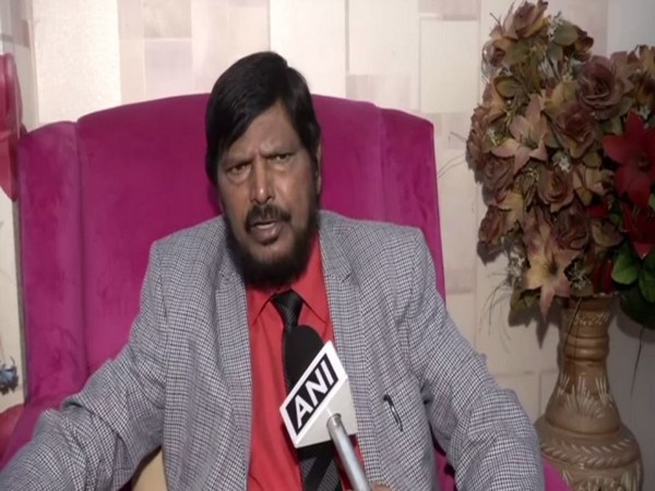 Union Minister Ramdas Athawale. Photo/ANI