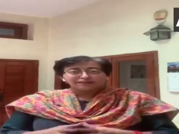 Screengrab from video shared by AAP leader Atishi.