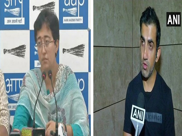 Aam Aadmi Party (AAP) candidate from East Delhi Atishi Marlena and BJP nominee Gautam Gambhir