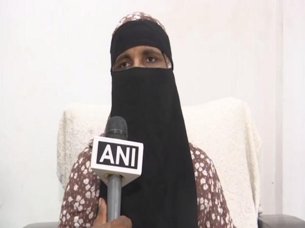 Atiya Begum speaking to ANI. (Photo/ANI)
