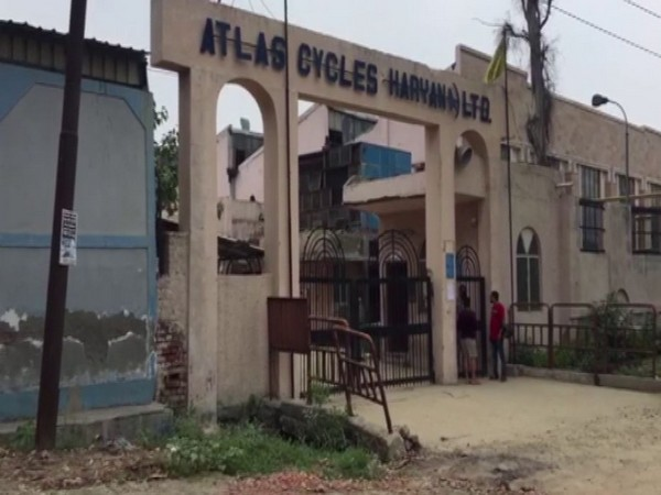 Visual from the factory of Atlas Cycle (Haryana) Ltd in Ghaziabad. Photo/ANI