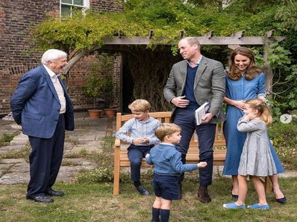David Attenborough and Royal Family (Image Courtesy: Instagram)