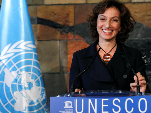 Director-General of UNESCO Audrey Azoulay