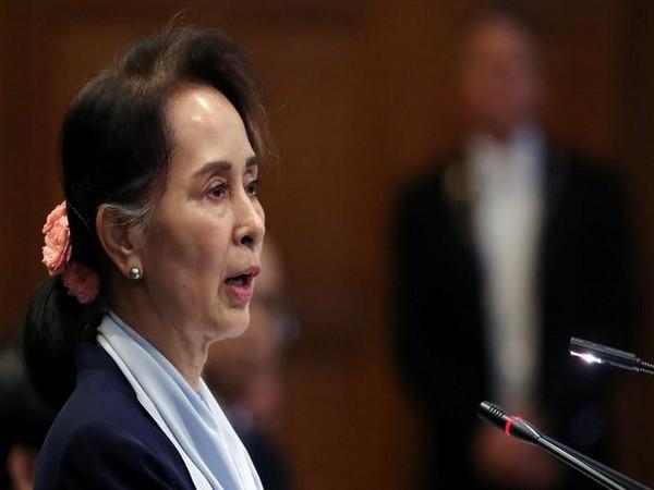 Myanmar's State Counsellor Aung San Suu Kyi (File pic)