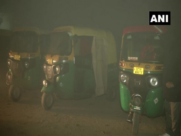 Earnings of auto drivers who operate near Singhu border has dipped. (Photo ANI)