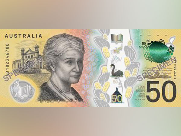 Australia's $50 banknote (File photo)