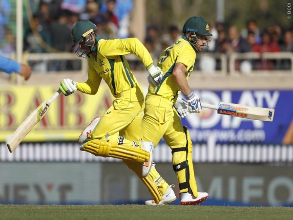 A still from the third ODI match between India and Australia Photo/BCCI Twitter