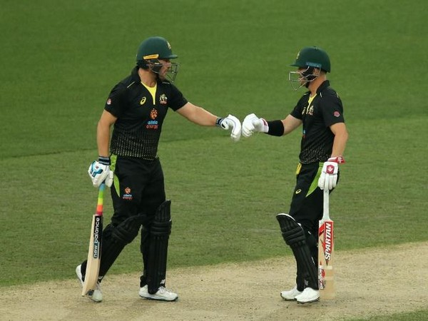Australia batsmen Aaron Finch (left) and David Warner (right) (Photo/ ICC Twitter)