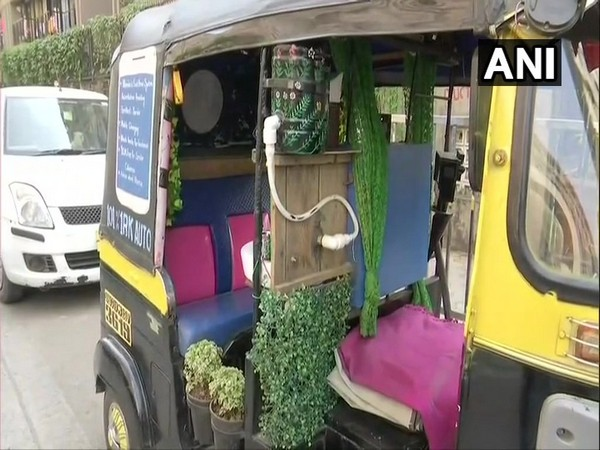 Check out Mumbai's 'first home system' autorickshaw