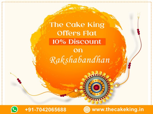 Avail offers from The Cake King on the occasion of Rakshabandhan