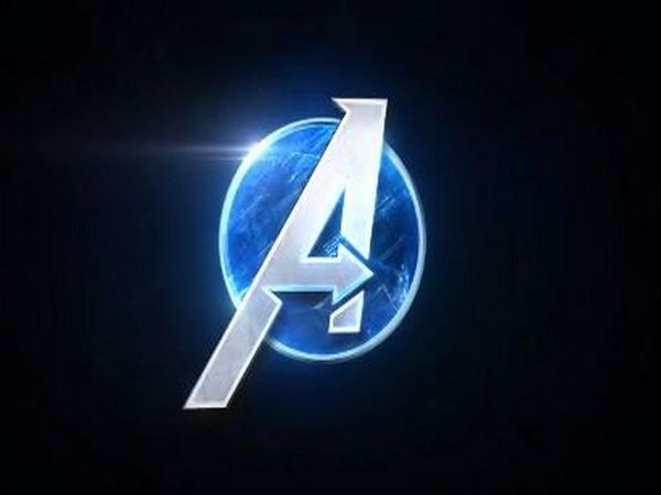 Avengers' symbol (Still from the teaser of 'Marvel's Avengers' video game)