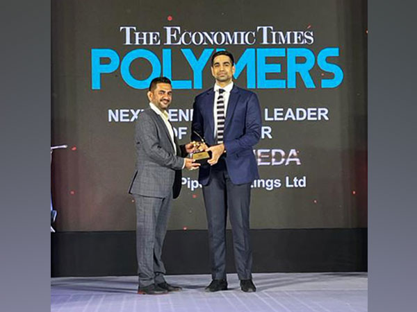 "Nihar Chheda wins ""ET POLYMERS - Next Generation Leader"" Award 2021"