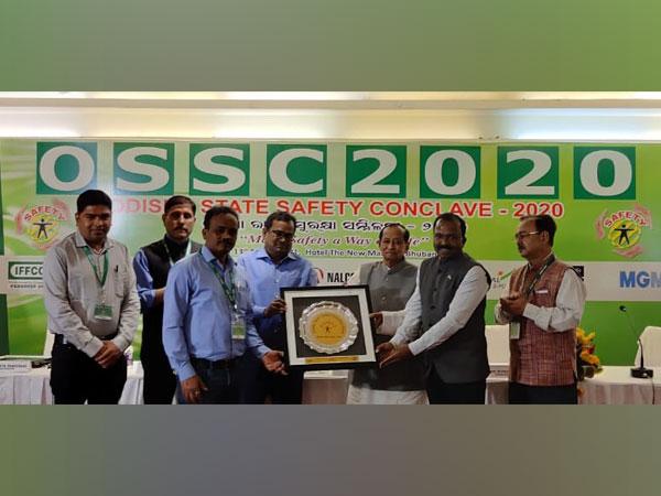 Kalinga Safety Excellence Award-2019