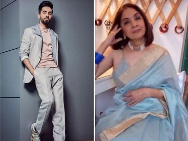 Actors Ayushmann Khurrana and Neena Gupta (Image courtesy: Instagram)