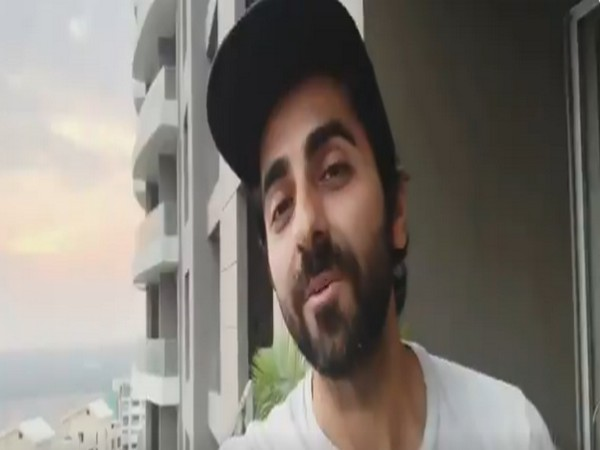 A still from the video shared by actor Ayushmann Khurrana (Image courtesy: Twitter)