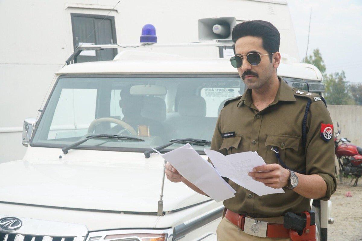 Ayushmann Khurrana in AnubhavSinha's investigative drama titled 'Article 15