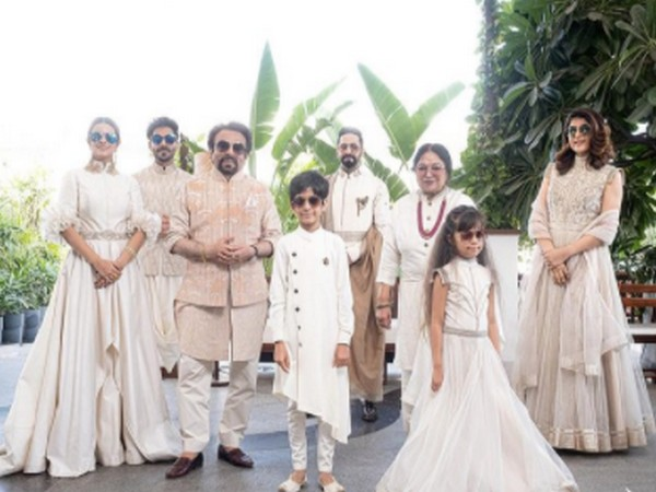 Actor Ayushmann Khurrana with his family (Image Source: Instagram)