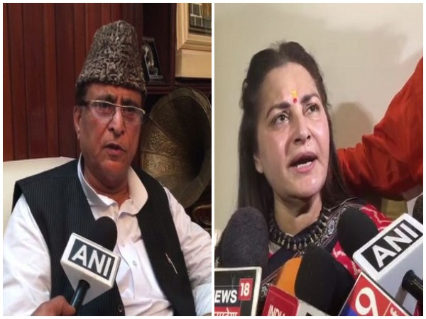 Azam Khan and Jaya Prada