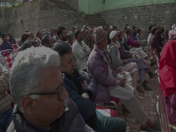 People gathered in large numbers for the programme and expressed their appreciation. Photo/ANI