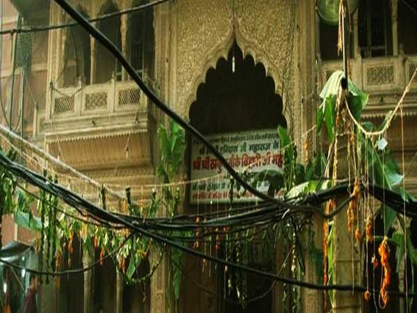 Banke Bihari Temple (Photo credit: Banke Bihari Temple website)
