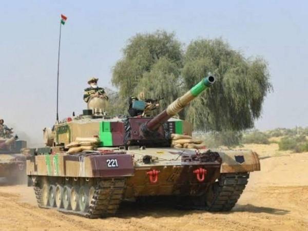 Main Battle Tank Arjun Mark1A (Photo/ANI)