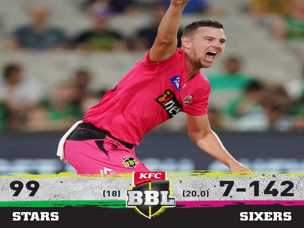 Sydney Sixers defeated Melbourne Stars by 43 runs (Image: BBL's Twitter)
