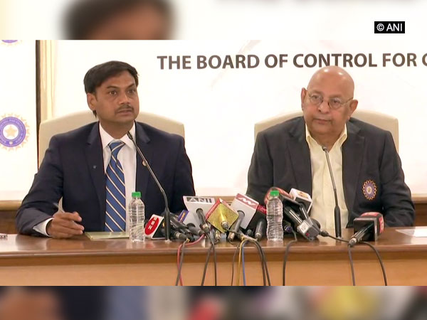 India Chairman of Selectors MSK Prasad and BCCI Secretary Amitabh Chaudhry