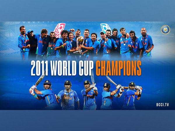 The 2011 World Cup winning team (Photo/ BCCI Twitter)