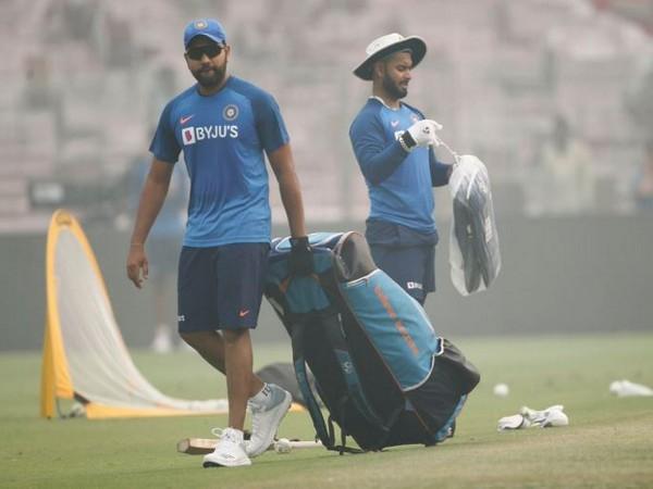 India batsman Rohit Sharma (left) and Rishabh Pant (right) (Photo/ BCCI Twitter)
