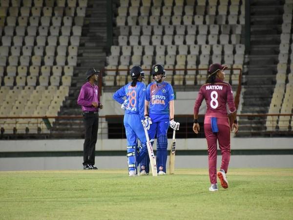 India batswoman Shefali Verma and Smriti Mandhana. (Photo/BCCI Women Twitter)