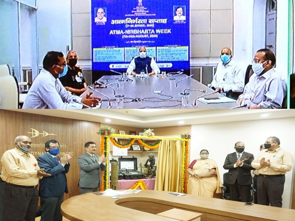 The two indigenised products were virtually launched by the Defence Minister from Delhi