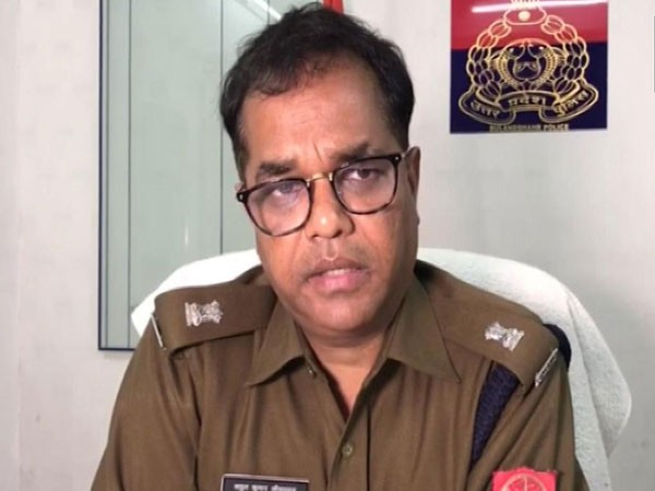 Atul Srivastava, Superintendent of Police, Bulandshahr. Photo/ANI