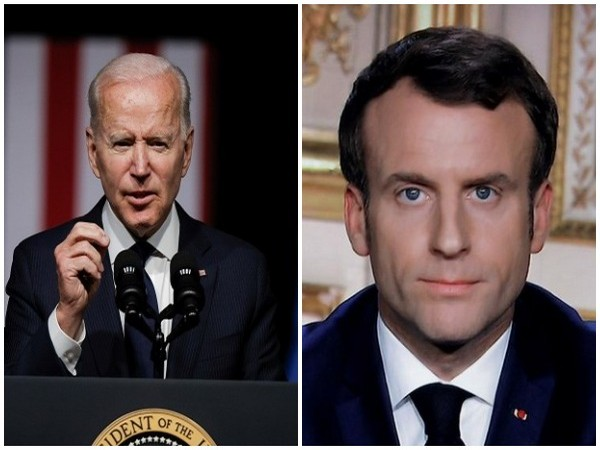 US President Joe Biden and his French counterpart Emmanuel Macron