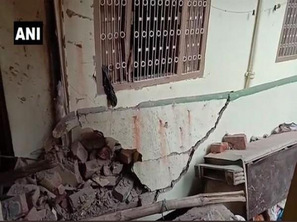 Five injured in an explosion in Bihar. Photo/ANI
