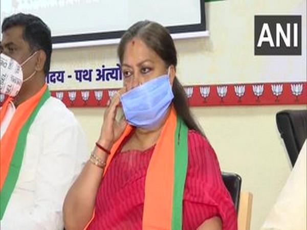 BJP legislature party meeting underway at party headquarters in Jaipur.