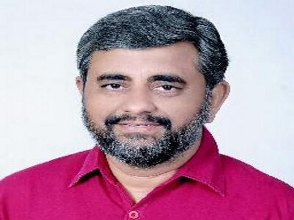 BJP UP spokesperson Manoj Mishra (Image courtesy: @ManojMishraBJP)