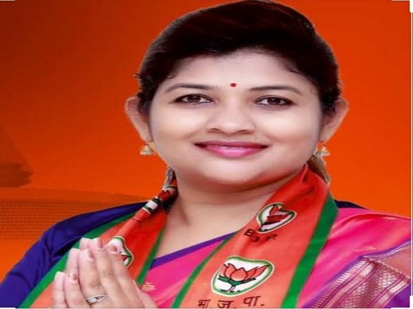 BJP MLA Shweta Mahale from Chikhali Assembly.