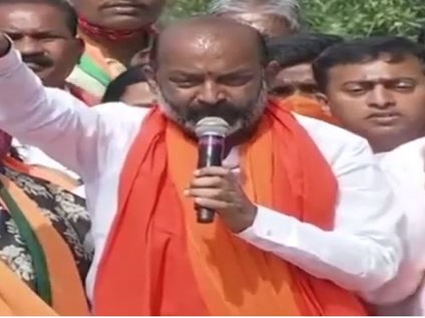 BJP Telangana unit chief Bandi Sanjay Kumar (File pic)