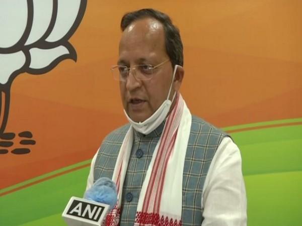 BJP National General Secretary Arun Singh speaking to ANI on Friday (Photo/ANI)