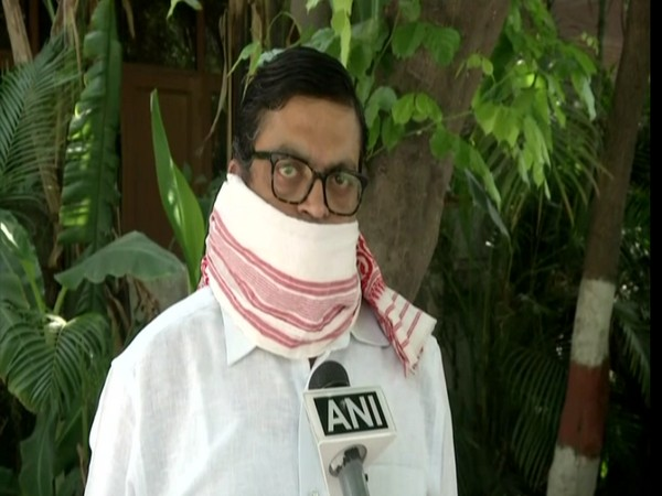 Gopal Krishna Agarwal speaking to ANI in New Delhi on Thursday.