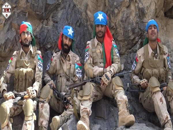 The Balochistan Liberation Army released a video message on Sunday. (Courtesy: vimeo.com)